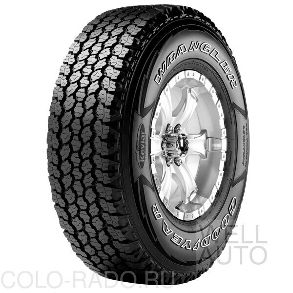 Автомобильная шина GOODYEAR Wrangler ALL-Terrain adventure With kevlar 265/75 R15 109R всесезонная